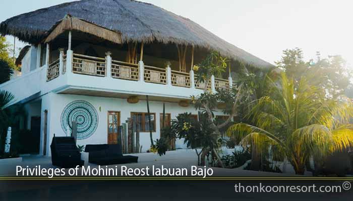Privileges of Mohini Reost labuan Bajo