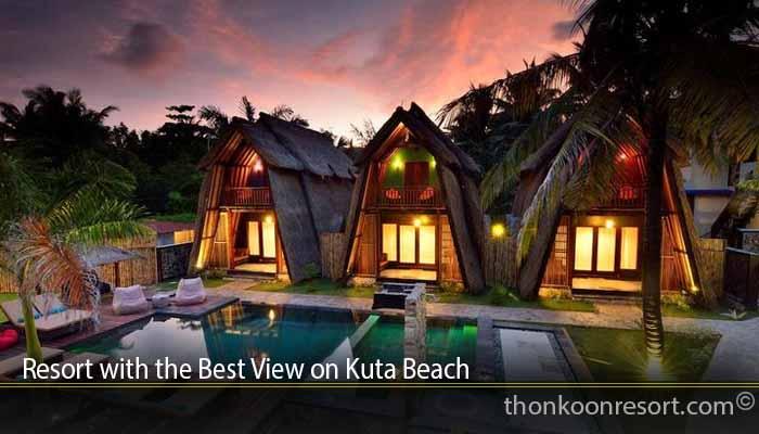 Resort with the Best View on Kuta Beach