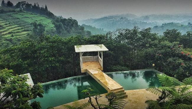 Hidden Nature Resort in Lembang